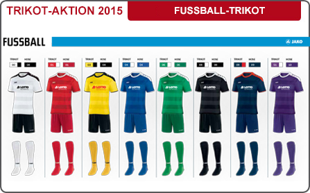 Fussball Trikot-Aktion 2015